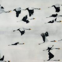 Flight of Cranes II A scaled