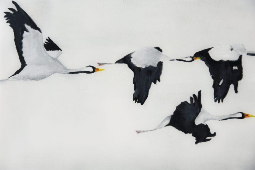 Flight of Cranes II E scaled