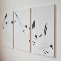 Four Gulls Kunstwerk Artwork