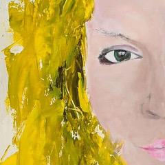 """""""You Are On My Mind"""" Schilderij Painting Artwork Kunstwerk Kay Sleking"""