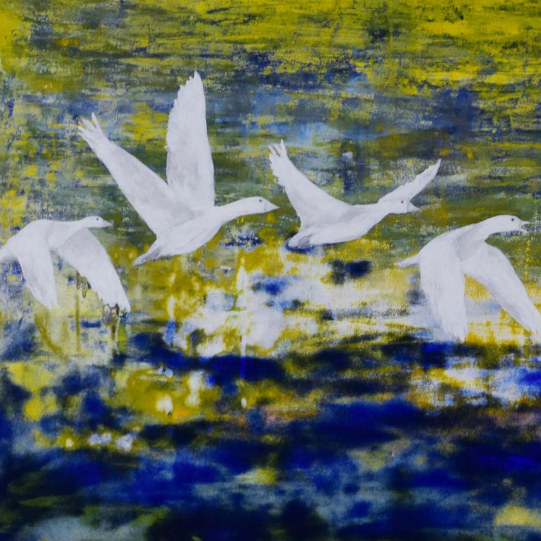 Schilderij What If Kunstwerk Kay Sleking